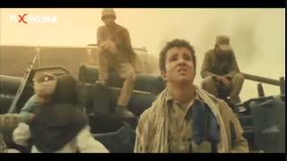فیلم تنگه ابوقریب ، بمباران شیمیایی ارتش عراق و کمک افراد گردان به مردم