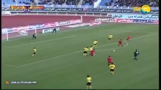 خلاصه بازی شهرخودرو 1 - سپاهان (لیگ برتر ایران)