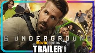 [تریلر] فیلم 6Underground | اکشن، هیجانانگیز