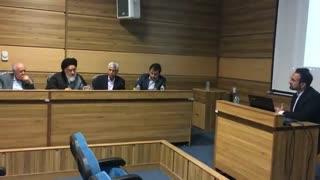 دیدگاه دکتر سید حسین صفایی و دکتر سید مصطفی  محقق داماد  در خصوص دکترعلی فلاح- دانشگاه تهران