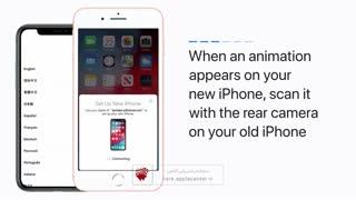آموزش روش انتقال کامل اطلاعات گوشی های موبایل آیفون اپل به گوشی جدید آیفون بدون استفاده از کامپیوتر