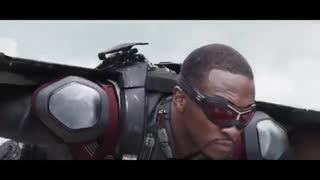 کلیپ اکشن وبسیار زیبا مارول) Iron Man vs Captain America & Bucky