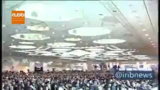 شعار مردم در نماز جمعه تهران و تائید آیت الله موحدی کرمانی