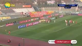خلاصه بازی سایپا 0 - پرسپولیس 2 (هفته پانزدهم لیگ برتر ایران)