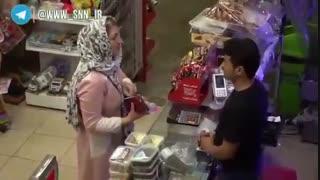 دوربین مخفی/ سکوت عجیب برخی از مردم در قبال گرانفروشی!