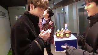 یه ویدئو از جشن تولد شینوون!