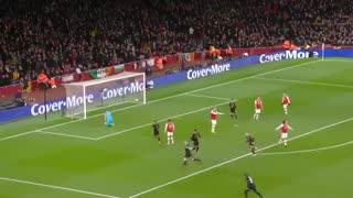 خلاصه بازی آرسنال 0 - منچسترسیتی 3 - هفته هفدهم لیگ برتر انگلیس