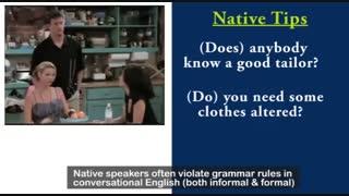 آموزش زبان انگلیسی با فیلم و سریال - شماره 4
