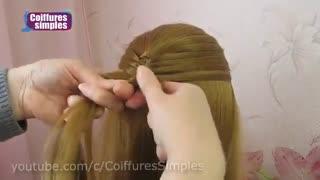آموزش مدل مو دخترانه بافت ترفندی- مومیس مشاور و مرجع تخصصی مو