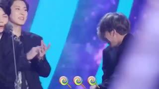 Chanbaek moment at mama 2017