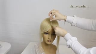آموزش مدل مو دخترانه چتری بلند- مومیس مشاور و مرجع تخصصی مو